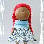 Наряд с обувью для куклы Мия Нинес Д`Онил