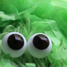 Куплю тёмно-карие стеклянные глазки на 18 мм.
