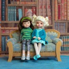 Кукла Маша, кукла Миша, Кукла Саша и Ариша. часть II