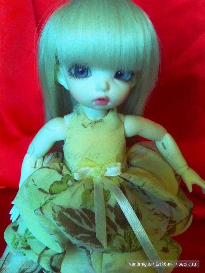 Очаровательное воздушное платьице для маленькой красотки :-)