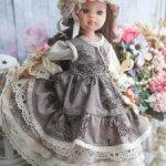 Деревенский наряд для куклы
