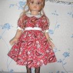 Распродажа 600 рублей! Платье для Готц, Gotz, 48 см, Maru and Friends, 52 см Красотка!