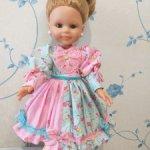 Распродажа за 500 рублей! Платье куклы Paola Reina 32 - 34 см Лето! Ах, лето!