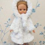 Шубка для куклы Paola Reina 32-34 см Зимушка