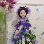 К 8 марта 1350 руб! Платье куклам Ruby Red 37 см Танец цветов