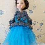Сегодня за 1150 рублей! Платье куклам Ruby Red 37 см Морской бриз!