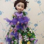 Платье куклам Ruby Red 37 см Танец цветов!
