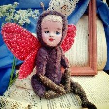 Бабочка - яркий символ лета