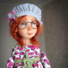 Рада познакомить, моя Люська. Авторская кукла