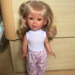 Кукла Паулина от Вестида де Азул.