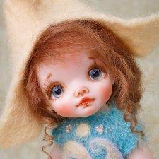 Энн и другие авторские куколки Татьяны Воробьёвой