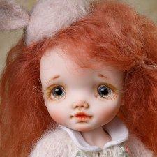 Апельсинка, авторская кукла Татьяны Воробьёвой
