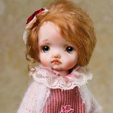 Агнесса авторская кукла Татьяны Воробьёвой