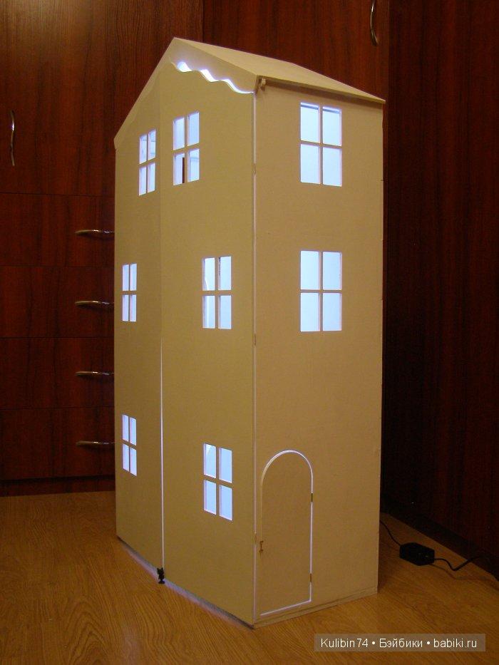 Вариант домика с дверьми