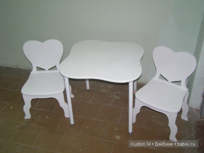 мебель под рост 120см