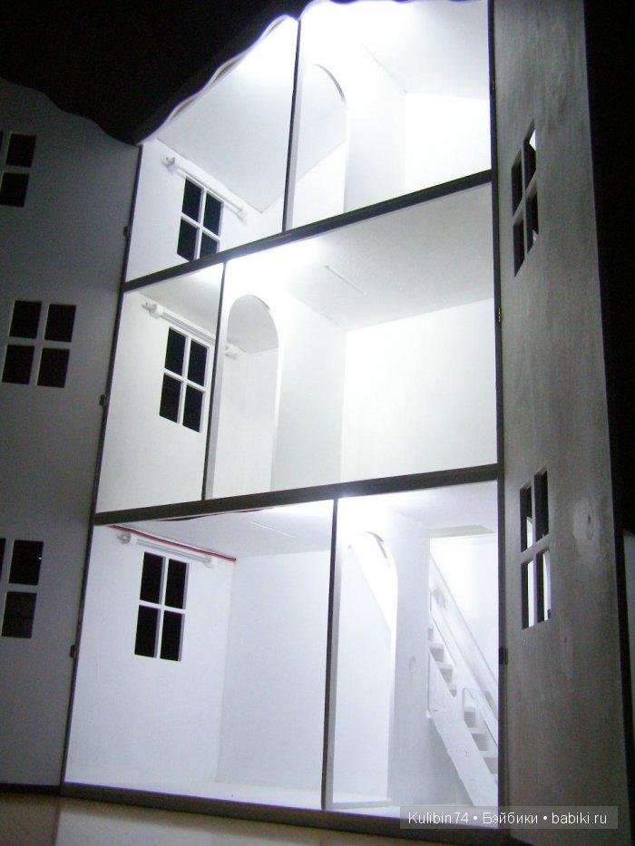 Освещение в домике для Барби