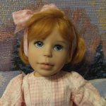 Рыженькая малышка Merry Rose от Maryanne Oldenburg. ООАК.