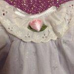 Винтажное платьице для малышки