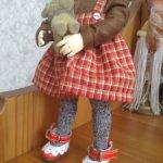 Красные туфельки для деток