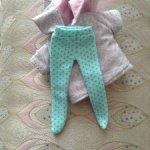 Курточка и колготки для малышек 16 см
