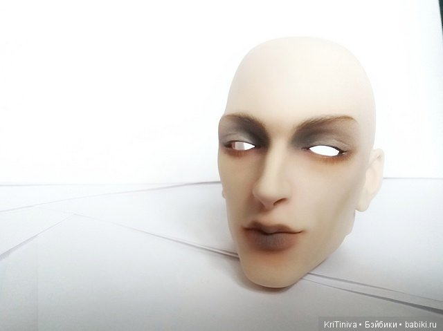Доллше Филипп: мейк+ раскрытие глаз