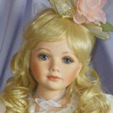 Мой Рождественский фарфоровый Ангел от Тельмы Реш