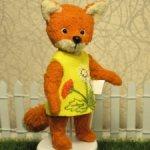 Маленькая лисичка Рыжулька .