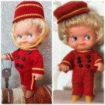 Комплект одежды для куклы ГДР 14-15 см, копытки