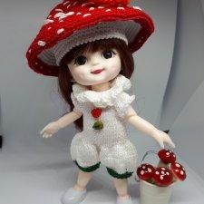 Карнавальный костюм Мухоморчик для Баболек, Лати, Пукифи и БЖД малышек