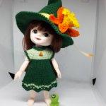 Карнавальный костюм Лесная Ведьмочка для Баболек, Лати, Пукифи и БЖД малышек