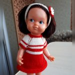 Редкая кукла ГДР, 22 см, Rauenschtein, Криворучка