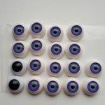 Глаза для кукол полусфера 12 и 10 мм
