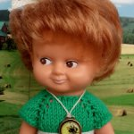 Кукла ГДР, Кляйнпуппен, 20 см