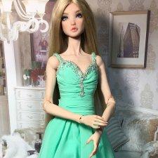 Образ сложился. Авторская шарнирная кукла Блер от А.Добряковой