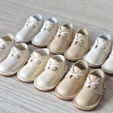 """Кожаные ботинки для Momonita и кукол с таким же размером ноги - серия """"Нежность"""""""