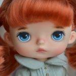 Кастомная Monst doll Xiaomi, Рыжик