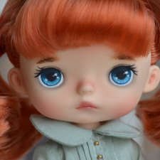 Скидка на два дня 7 - 8 марта.  Кастомная Monst doll Xiaomi, Рыжик