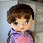 Скидка два дня 7- 8 марта! Кастомная брюнетка Monst doll Xiaomi, в родном аутфите