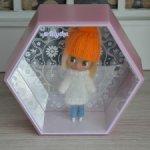 Скидка. Домик - сота для petit Blythe или других маленьких кукол