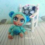 Новые игрушки для ваших куколок из полимерной глины от Милы