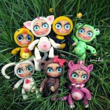 Игрушки для кукол. Зверята от Милы