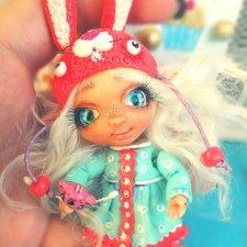 Новые авторские куклы из полимерной глины от Милы