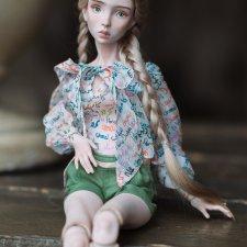 Мои фарфоровые девушки для Салона Кукол