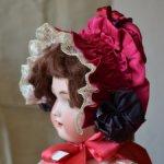Боннет для антикварной куклы