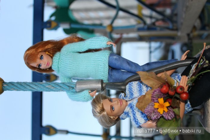 Свитер Барби и безрукавка Кена