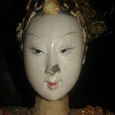 Антикварная кукла 1880 года.