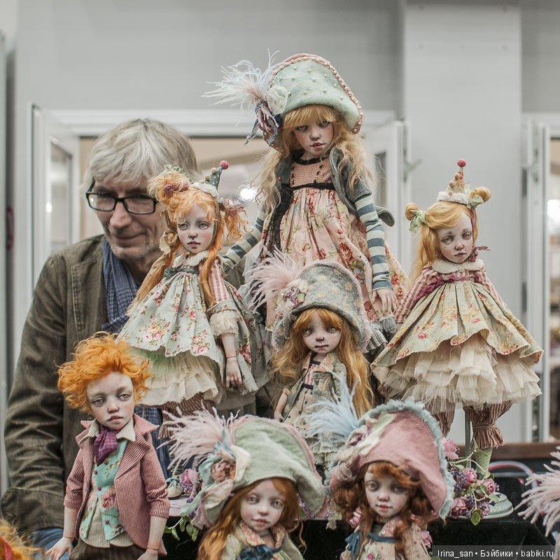 Kardenchiki, куклы Карины Буркацкой и Дениса Шматова