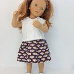 Сюзанна голубоглазая с веснушками (Minouche Suzanne)