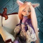 Авторская кукла ... Сновидица Хольда...