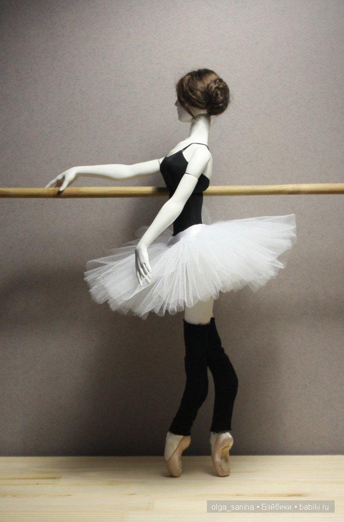 """авторская шарнирная кукла """"в балетном классе"""""""